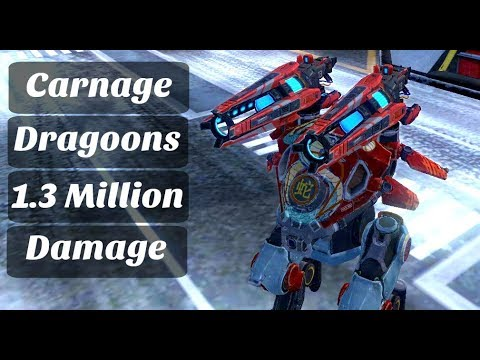 war robots how to get dragoons