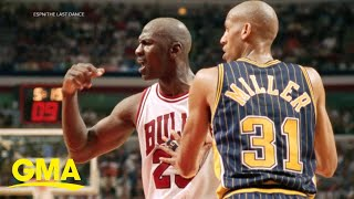 Exclusive new clip of Michael Jordan hit 'The Last Dance' l GMA