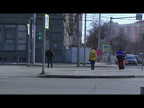 В российских городах домашний режим соблюдают не все.