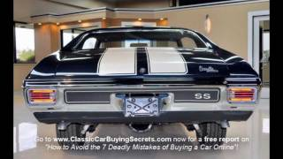 1970 Chevelle SS Classic Muscle Car for Sale in MI Vanguard Motor Sales