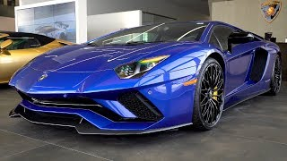 Start to Finish Design/Build 2018 Lamborghini Aventador S LP740-4 Coupé in Blu Nereid!! 4K