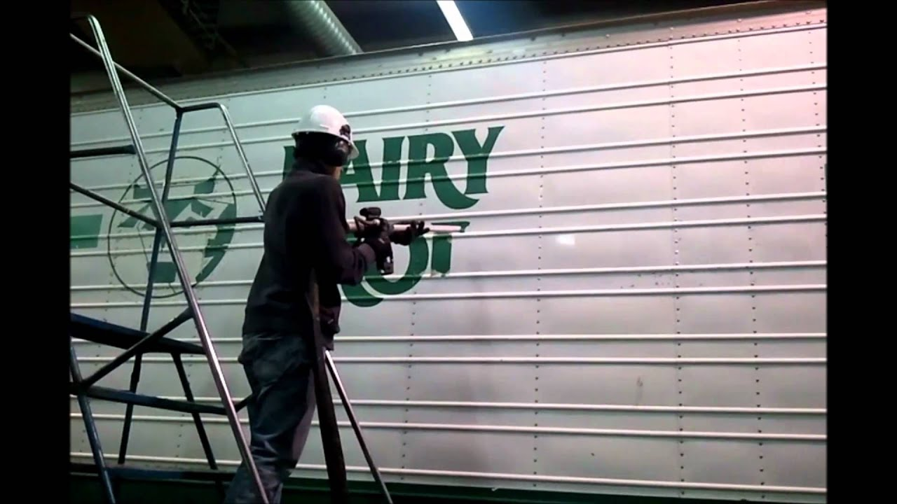 TK Industrial Vinyl Decal Removal YouTube - Custom vinyl decals   removal options