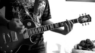 Avalancha - Heroes Del Silencio Guitar Solo Cover