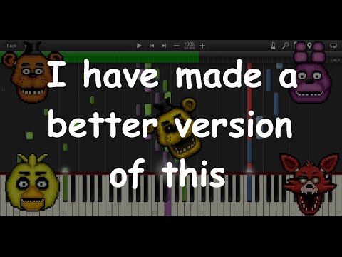 Five Nights at Freddy's Song MIDI re-creation