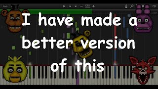 - Five Nights at Freddy s Song MIDI re creation Synthesia