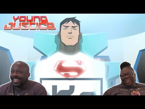 Young Justice 1x1 REACTION!! {Independence Day}