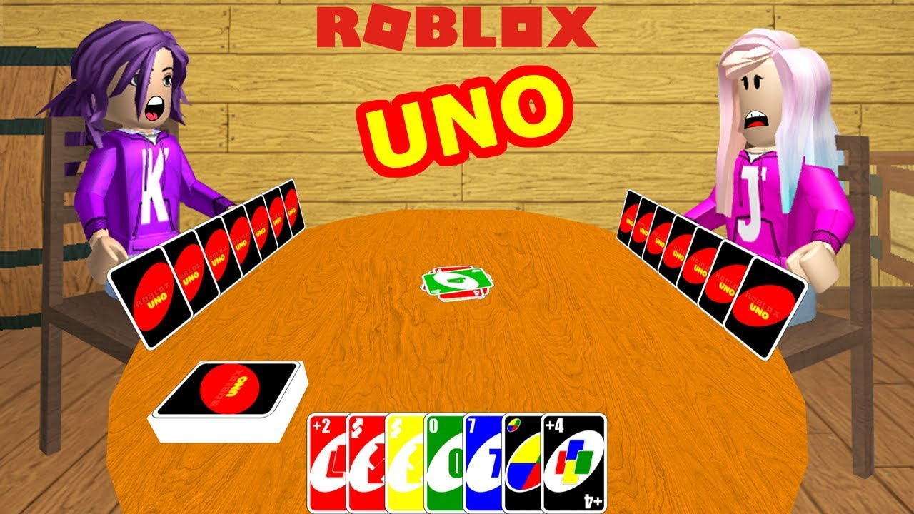 Don T Forget To Shout Uno Roblox Uno Card Game Youtube