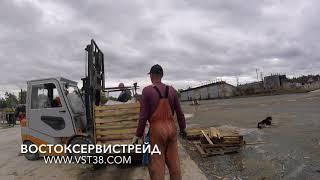 БИТУМ-БОКС разгрузка и плавка Сахалин (ФАСОВАННЫЙ БИТУМ)