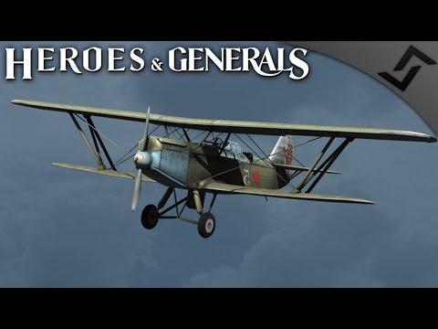 Russian Flight Pioneers - Heroes and Generals - Russian Recon Plane Gameplay