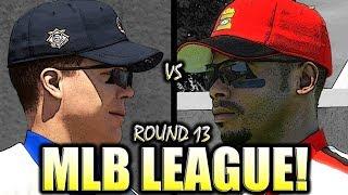 MLB THE SHOW LEAGUE ROUND 13! MLB THE SHOW 18 DIAMOND DYNASTY