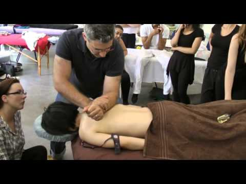 Deep tissue massage: forearm and elbow techniques