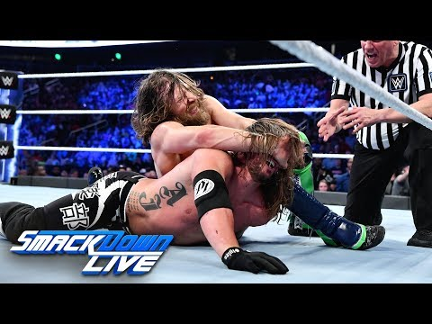 HINDI - AJ Styles vs. Daniel Bryan - WWE Championship Match: SmackDown LIVE, 30 October, 2018