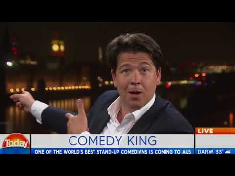 Comedy king heads Down Under - Michael McIntyre