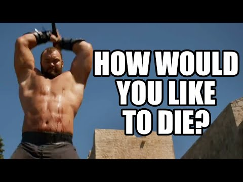 Game of Thrones Cast  How Would You Like To Die?