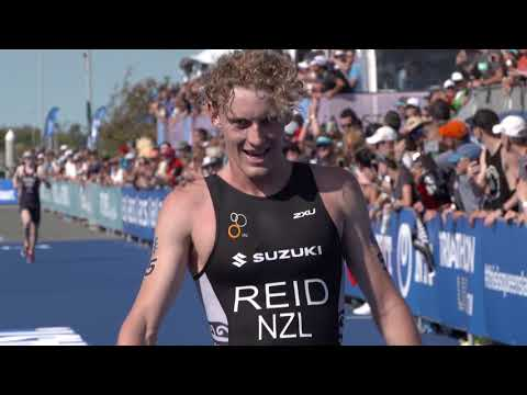 2018 ITU World Triathlon Gold Coast - U23 Men's Highlights
