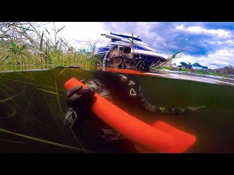 "Underwater Bass Bomb Experiment!! (Interesting Results) ""Jiggin With Jordan"""
