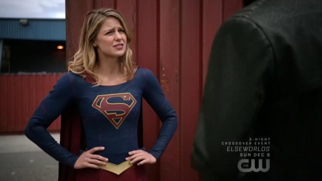 Supergirl 4x07 Supergirl and Manchester Black Scene