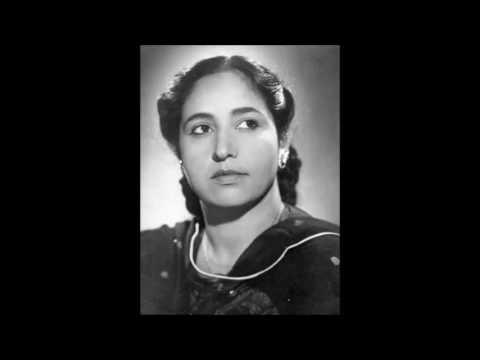 MALIKA PUKHRAJ - Baat chalat nayi chunari rang daari (1930s) - Raag Bhairavi