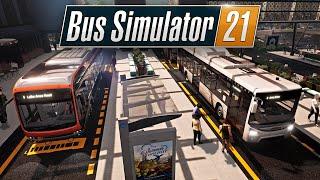 BUS SIMULATOR 21 (STAFFEL 1) 🚍 S01E01 • ANĠEL SHORES, wir kommen!   LETS PLAY