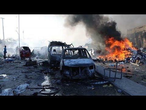 Truck-bomb attack in Somali capital kills 300+