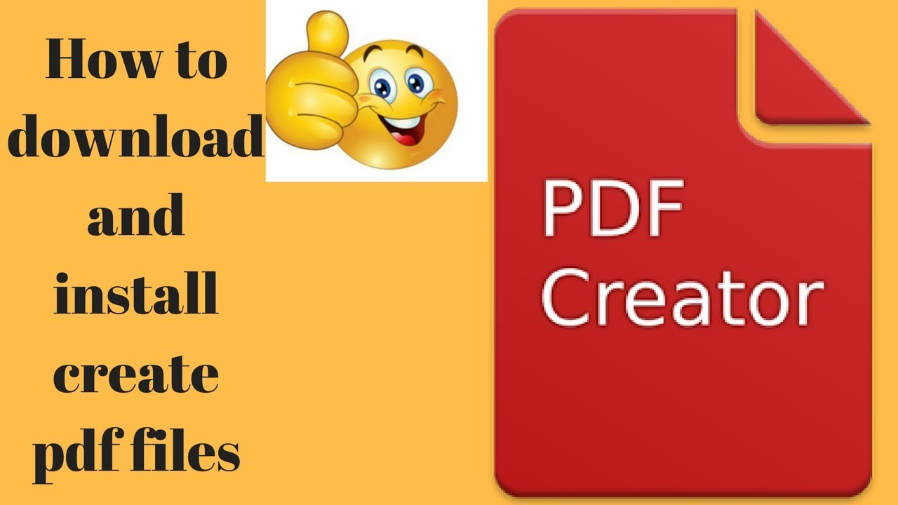 How to create pdf file, create pdf file offline, pdf creator.