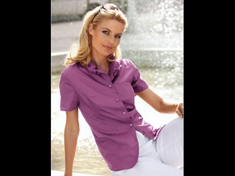 Посылки с Aliexpress: распаковка женской белой рубашки - YouTube