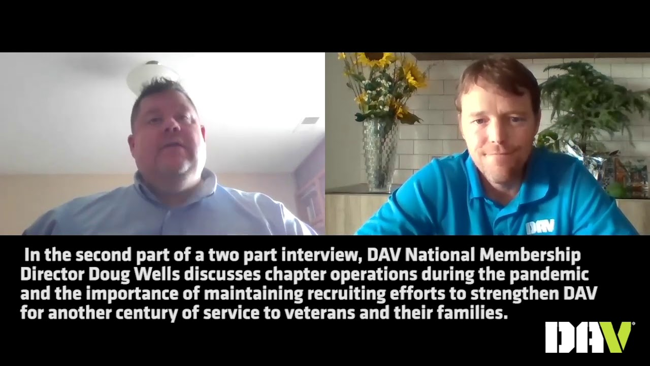 DAV chapter operations during the COVID pandemic