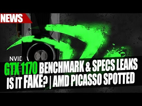 Nvidia GTX 1170 Leaked Benchmark & Spec Analysis - Legit? | AMD Picasso Spotted In Database