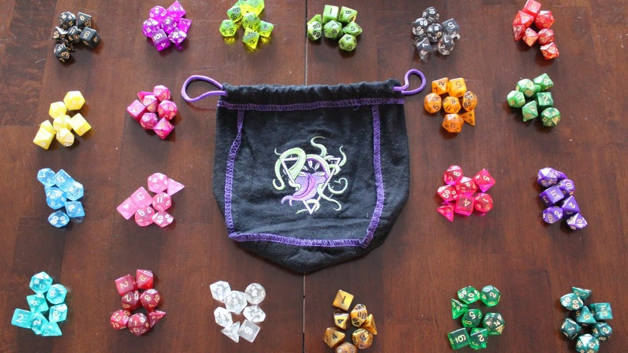 The Bag Of Devouring Dice 20 Complete Polyhedral Sets
