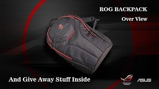 ROG Backpack over view!