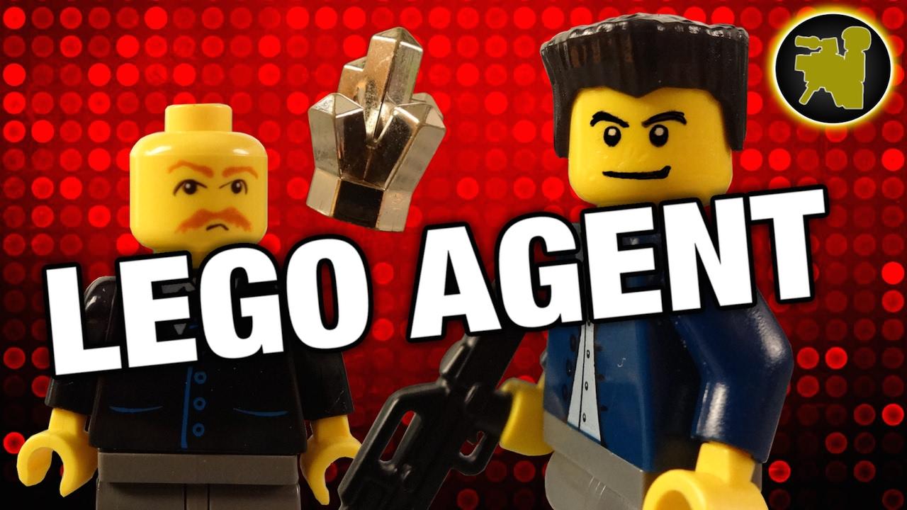 Lego secret agent - Hamster agent secret ...