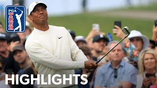 Tiger Woods shoots 1-under 71 | Round 2 | Farmers 2020