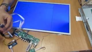 Делаем телевизор из монитора. Универсальный скалер LA.MV.9.p v59