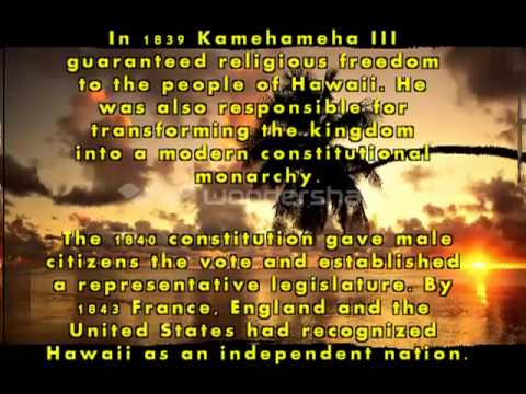 The History Of Hawaii