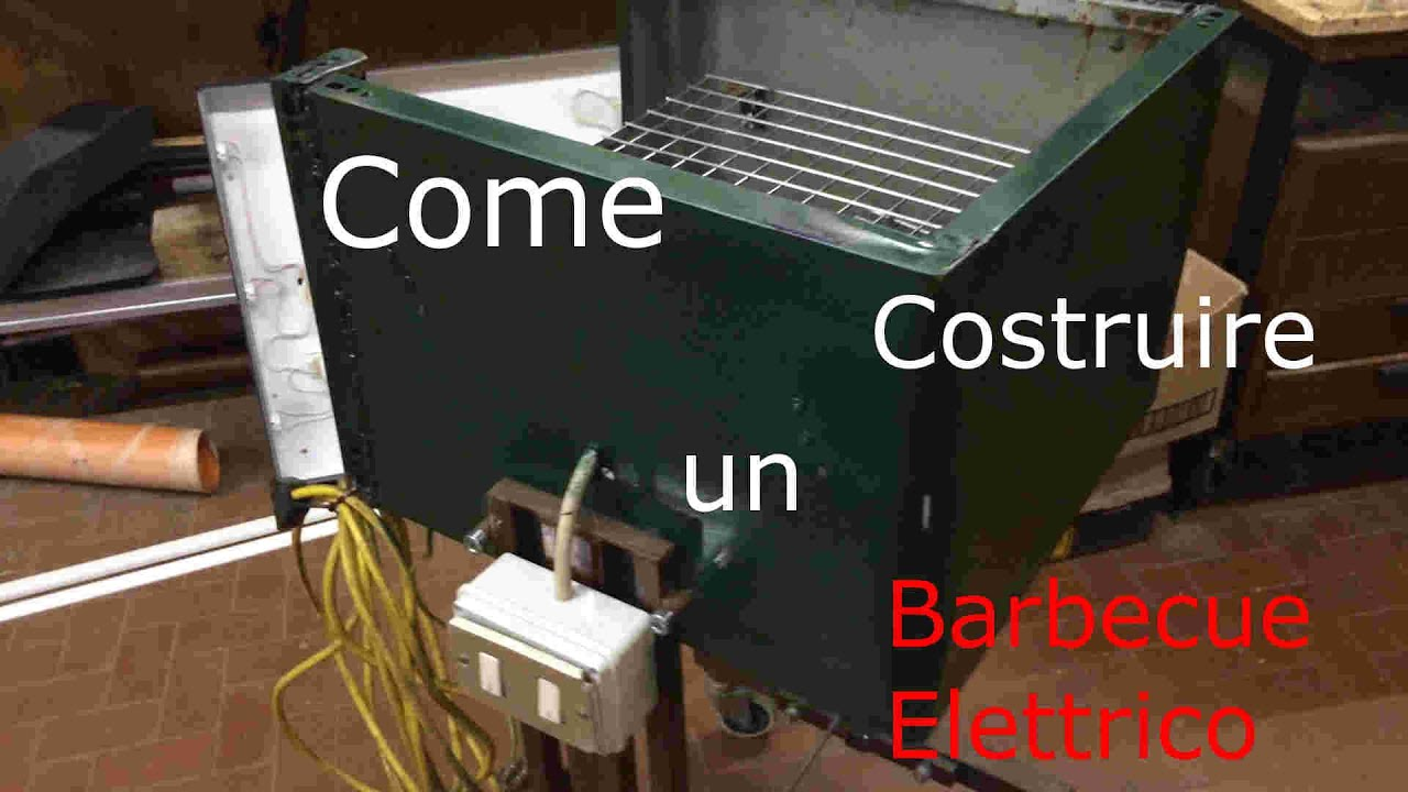 Come costruire un barbecue elettrico dreamer youtube for Come costruire un ranch