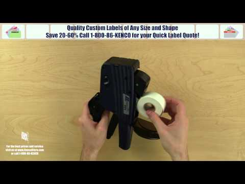 Instructions For Loading An Xl Pro 25eea Label Gun From Ims Action