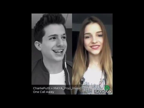One Call Away - Charlie Puth & MAYA Pop| Sing! Karaoke by Smule