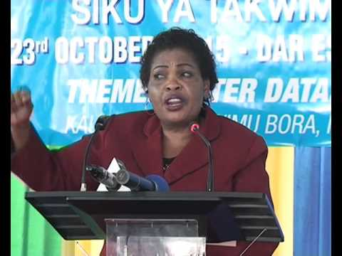 Speech of The Director General, NBS-Tanzania on the occasion of World Statistics Day 2015