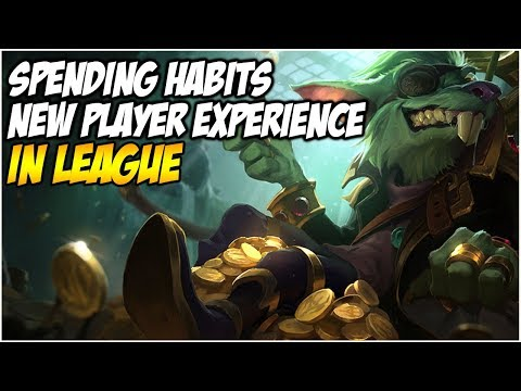 SPENDING HABITS IN LEAGUE & THE NEW PLAYER EXPERIENCE | League of Legends thumbnail