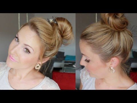 3 DUTT VARIANTEN High Bun YouTube