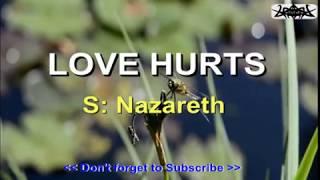 LOVE HURTS - Nazareth KARAOKE