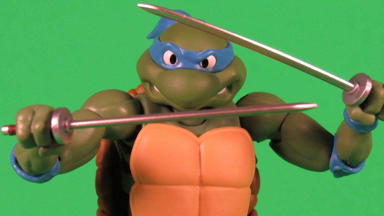 Bandai SH Figuarts Teenage Mutant Ninja Turtles Leonardo TMNT Bluefin