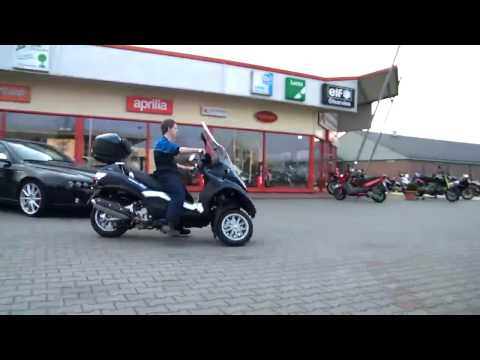 Piaggio MP3 400 LT 2010 Roller kurze Testfahrt