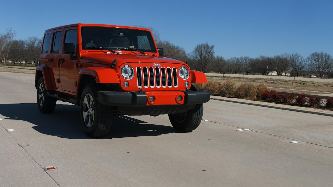 2017 jeep wrangler unlimited sahara test drive youtube. Black Bedroom Furniture Sets. Home Design Ideas