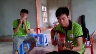 Phó Thác - Hòa Tấu harmonica + Guitar