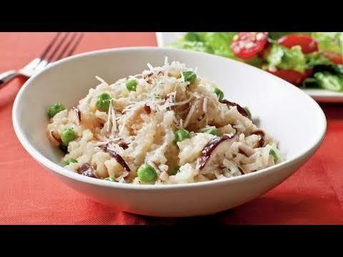 Shiitake and Sweet Pea Risotto Recipe
