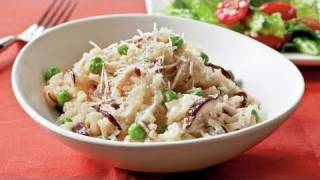 Shiitake and Sweet Pea Risotto Recipe