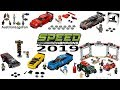Lego Speed Champions 2019 Compilation of all Sets