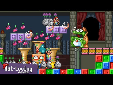Pikmin... in Super Mario Bros 2! (Day 7)