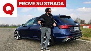 Nuova Audi RS4: è davvero così veloce? La prova definitiva | Quattroruote